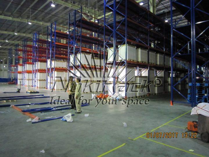 Triển khai kệ Selective cho Logistics – Hanaro, Việt Nam