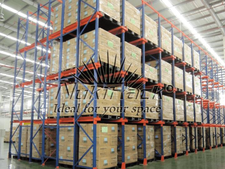 Triển khai giá để hàng cho Công ty TNHH Srithai, Bắc Ninh