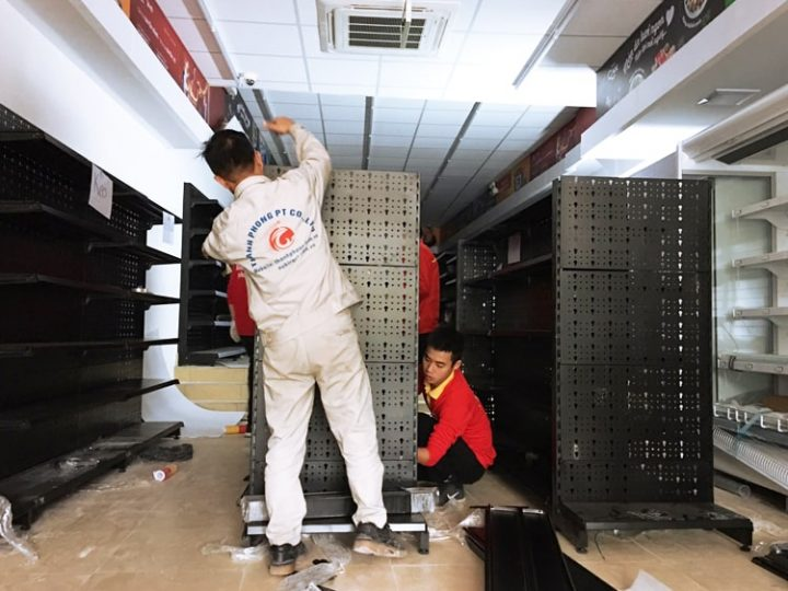 Tiếp tục triển khai giá kệ kho và giá kệ siêu thị cho Vinmart